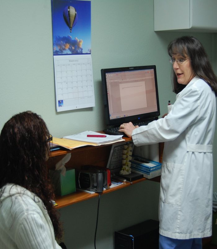 Dr. Cheryl Stanley with Patient.jpg